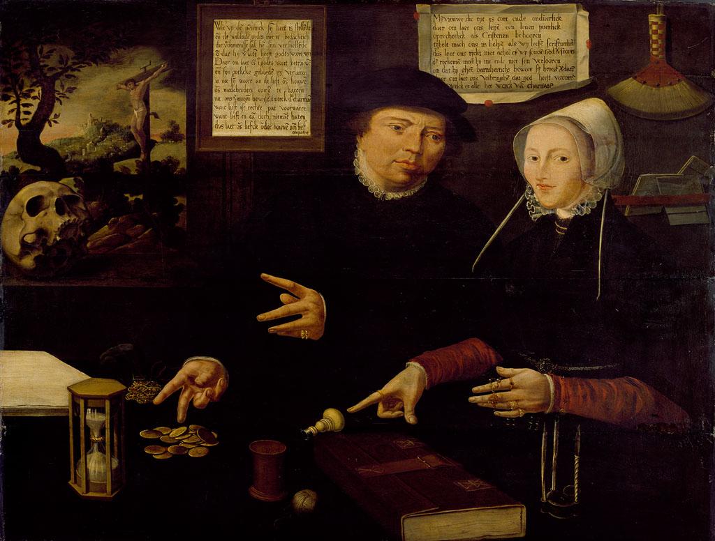 Vermeend portret van Egbert Gerbrantsz en zijn vrouw