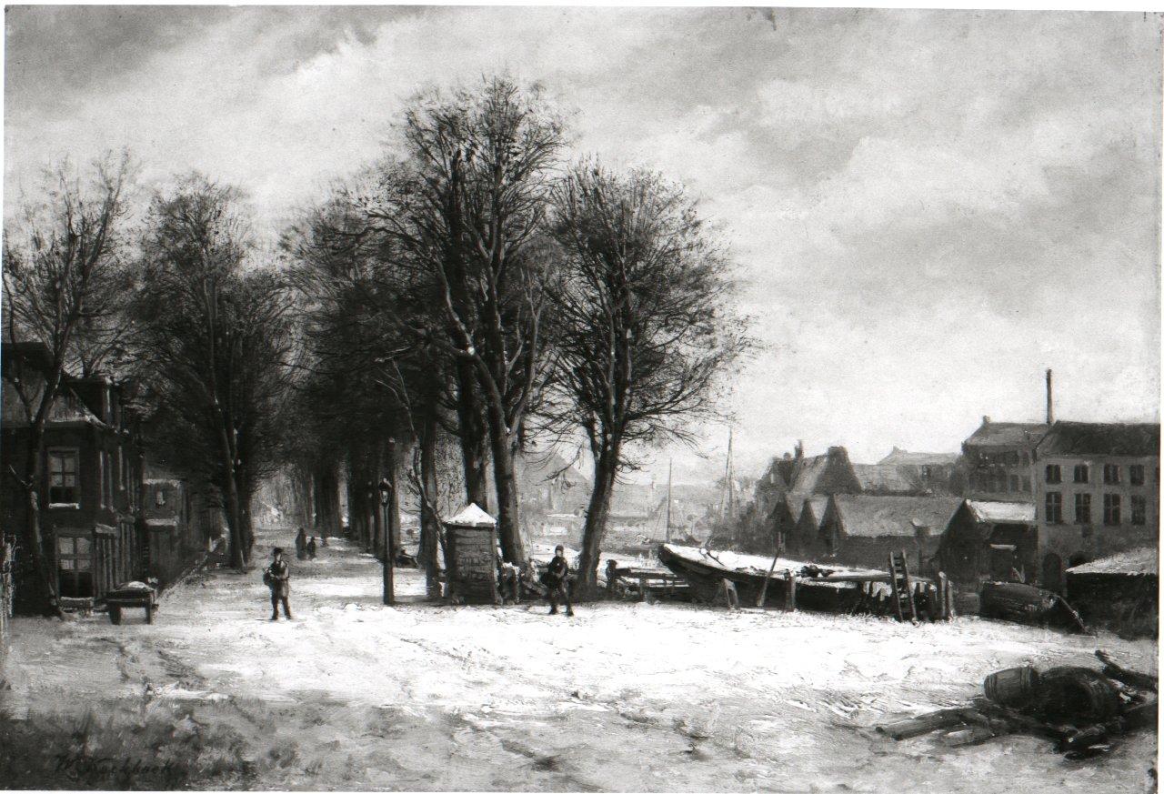 Plantage Lijnbaansgracht te Amsterdam