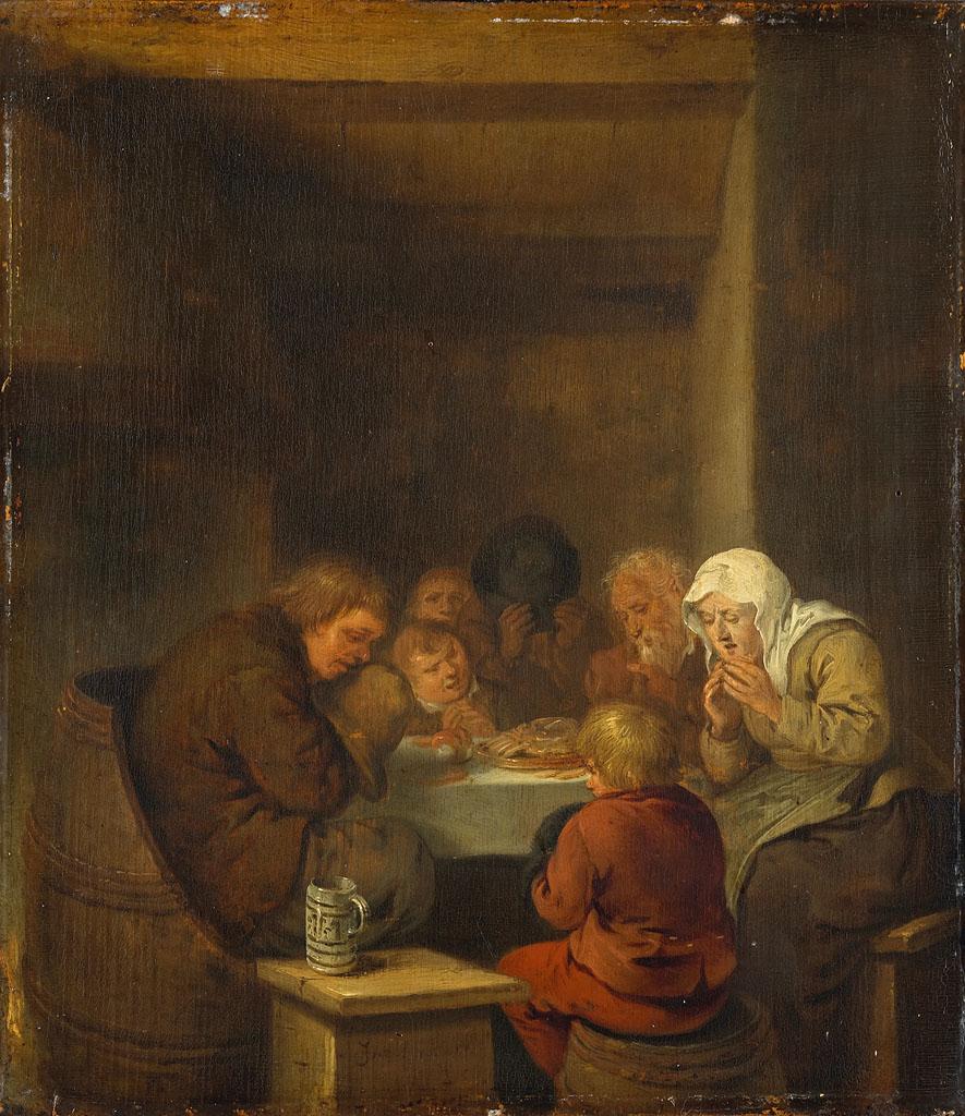 Het gebed voor de maaltijd